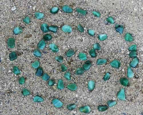 En rigtig hjerte sten