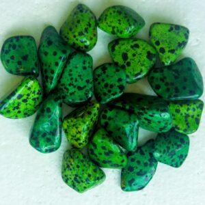 grøn dalmantiner jaspis