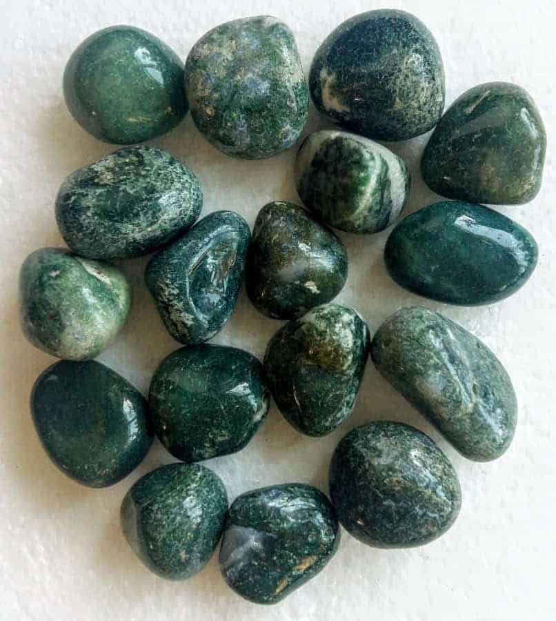 grøn agat