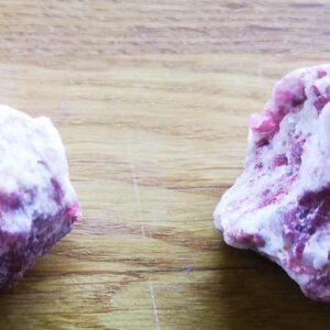 pink turmalin rå