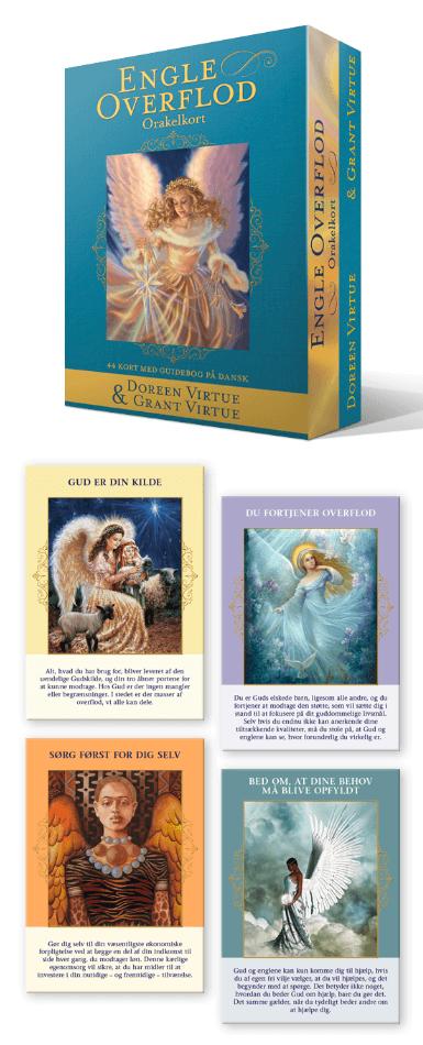 Engleoverflod Orakelkort af Doreen Virtue og Grant Virtue