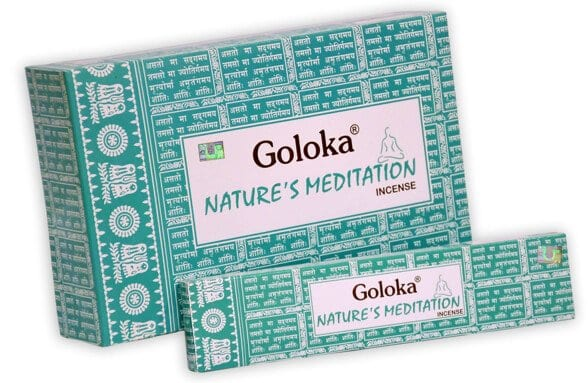 Goloka Natures Meditation røgelse