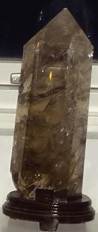 røg kvarts Stenen symboliserer renselse
