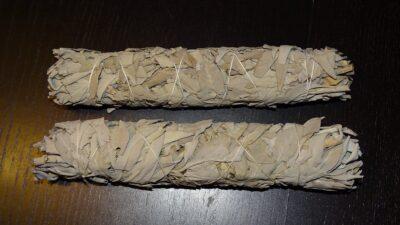 Salvie Hvid røgelse ca. 25 cm.
