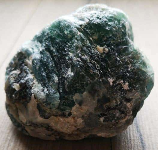 Grøn flourit rå i stor størrelse købes her