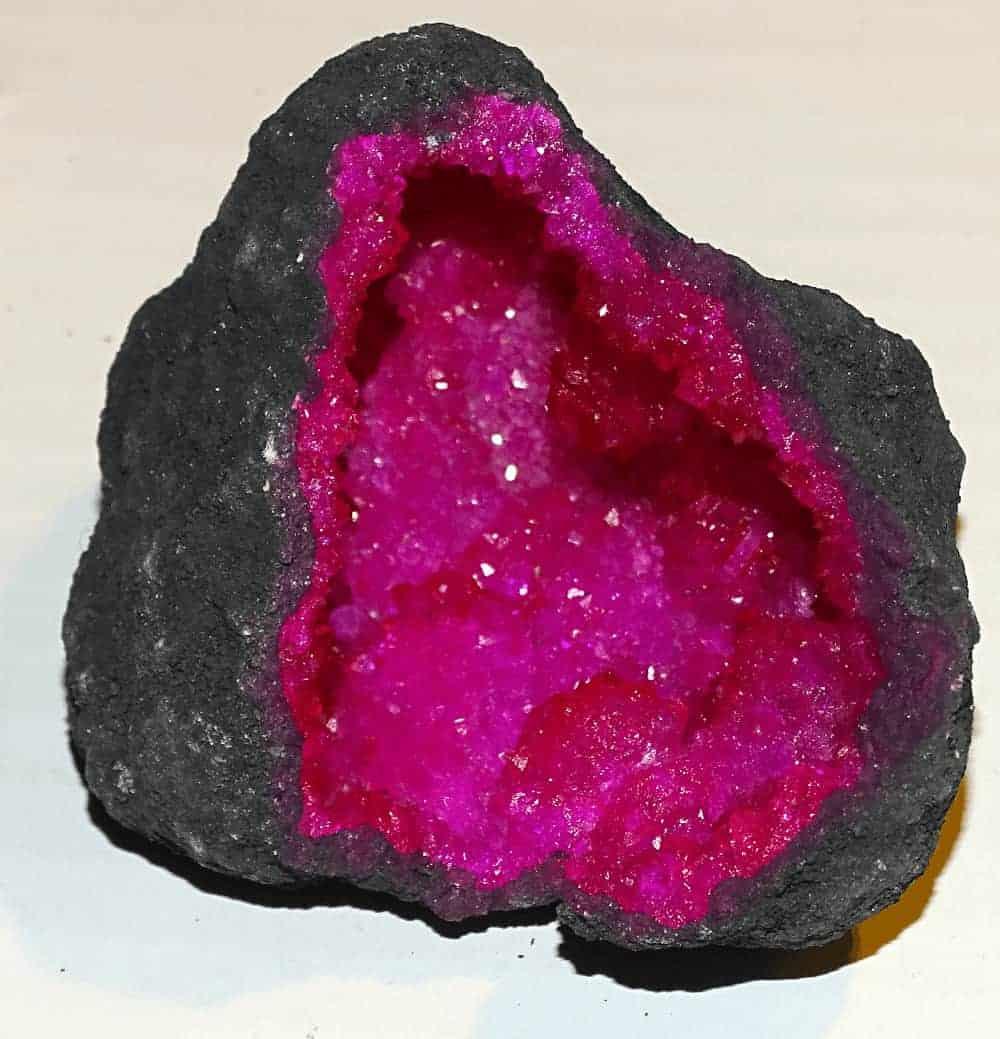 Pink Kvarts Geode