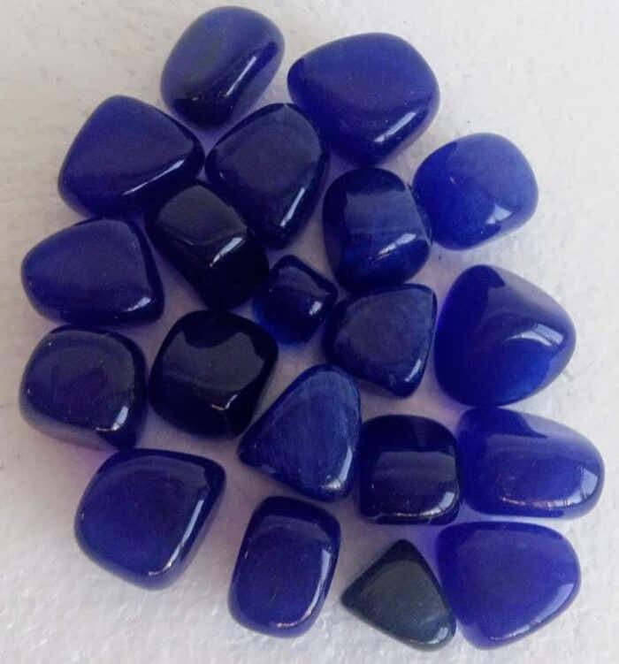 koboltblå obsidian