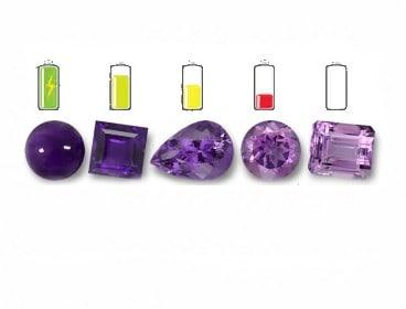 dine sten og krystaller skal fyldes med energi