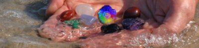 Rens dine sten og krystaller inden brug