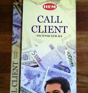 Nå dine salgsmål tiltræk nye kunder til virksomheden- Call Client – Røgelses pinde fra HEM