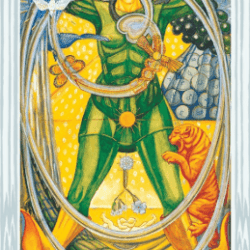 Aleister Crowley Thoth Tarot Professionelle de Luxe kort