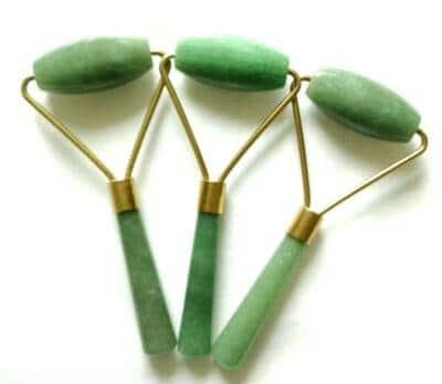 Grøn Jade Face Rollers - Mere glød og behandling af alle akupunktur punkter
