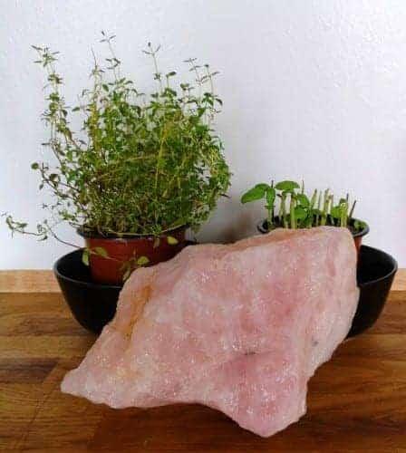 Rosakvarts 2,05 kg