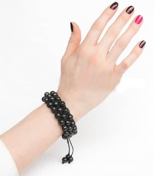 Shungit armbånd orientalsk