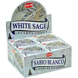 Hvid salvie kegler HEM