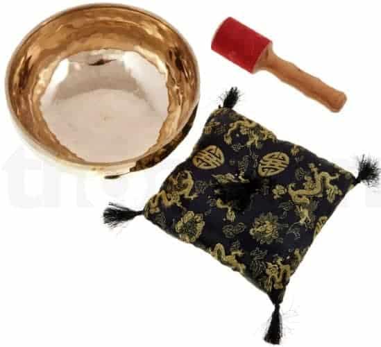 Tibetansk håndlavet syngeskål 1,4 kg
