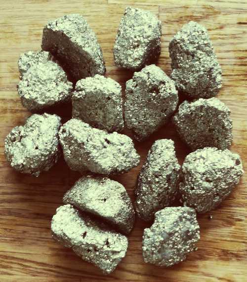 Pyrit rå fra Indien
