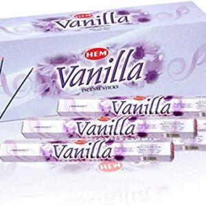 Vanilie/vanilje røgelsespinde fra HEM