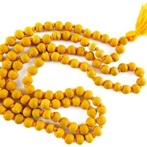 Haldi Mala (Gurkemeje) 108 + 1 Perle