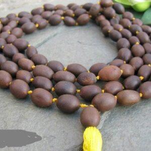 Håndlavet Lotuss Seed Japa Mala Kæde