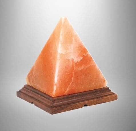 Himalaya salt lampe pyramide formet 2,3 kg