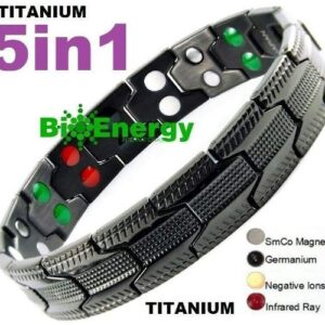 Titanium magnetisk armbånd (1)