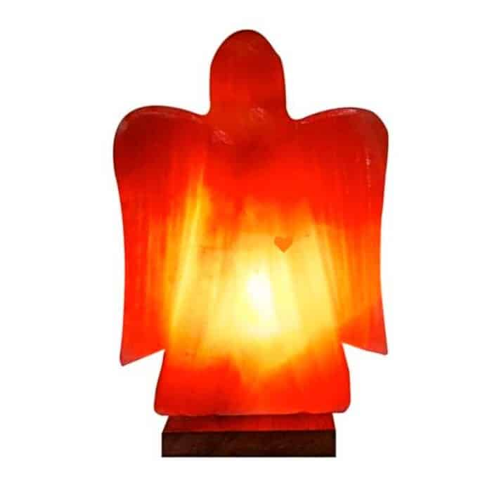 Himalaya saltlampe engleformet