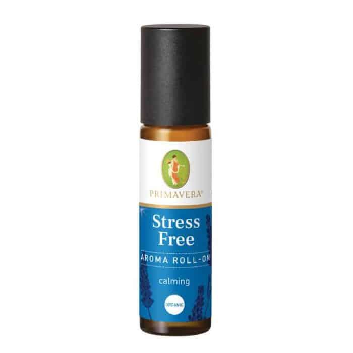 Stress free aroma roll on æteriske olier fra primavera