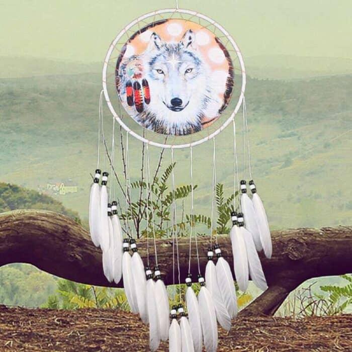 Drømmefanger med ulv