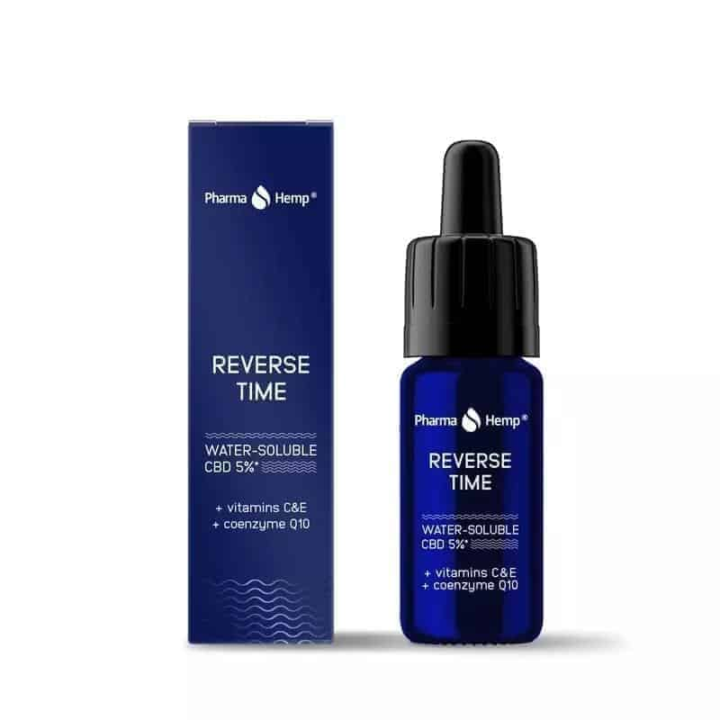 Reverse time CBD 5%+ vitamins C&E+ coenzyme Q10