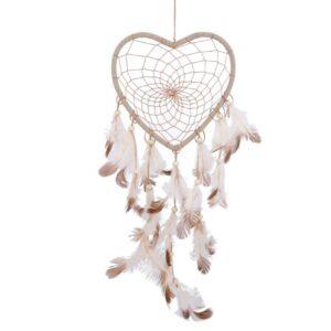 drømmefanger hjerte hør farvet (1)