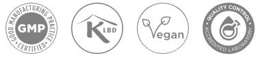 CBD med CURCUMIN & SORT PEBER, GMP, Kosher, Vegansk, akkrediterede laboratorier